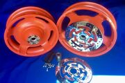 Harley Touring Wheels Screaming Eagle Orange 2009 And Up As Show Ultra Electra