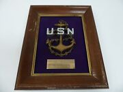U.s. Navy Memorabilia - From The Cpoand039s Of Vr-30