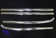 Chrome Line 4dr Window Sill Cover For Ford Ranger T6 4door Double Cab 2012-2015