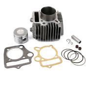 Cylinder And Piston Assembly 52.4mm With Gaskets And Ring For 110cc Motorbike