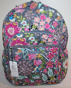 Vera Bradley Disney Mickey And Friends Iconic Campus Laptop Backpack