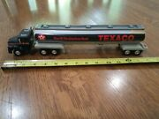 Texaco Gas Oil Semi Truck Tanker 1994 Star Of The American Road Toy 14 Inch Long