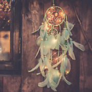 Qukueoy Light Up Dream Catchers For Bedroom Wall Hanging Decorations Led Home