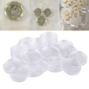 Protective 25pcs 38mm Airtight Capsule Coin Fit For Morgan Peace Silver Dollar