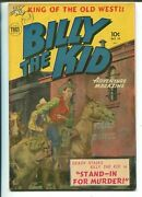 Billy The Kid 10 1952-superior-western Comic-photo Cover-canadian Variant-vg