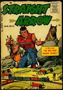 Straight Arrow 53 1956- Fred Meagher-lionel Train Set Cover- Western G-