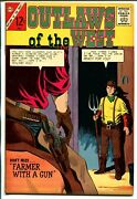 Outlaws Of The Old West 49 1964-charlton-western Thrills-farmer With Gun-fn