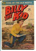 Billy The Kid Adventures 11 1952-toby-western Stories-photo Cover-g