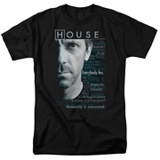 House Houseisms Short Sleeve T-shirt Licensed Graphic Sm-7x