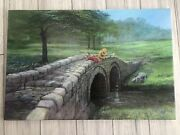 Disney Winnie The Pooh-fishing With Friends Le Giclee Canvas- Peter Ellenshaw