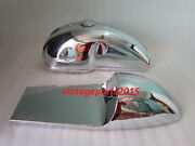 Benelli Mojave Cafe Racer 260 360 Chrome Gas Fuel Tank Seat Hood With Cap And Tap
