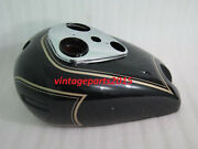 New Ariel Square Four Black Painted Gas Fuel Petrol Tank Reproduction