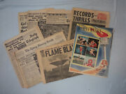 Bb6. Lot Of Eight 8 1956 Melbourne Olympic Games Magazine And Newspapers