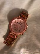Authentic Woman's Rose Gold Watch