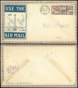 2/10/30 Wash Dc Cds Ac Roessler Beacon Cachet First Day Cover C12 Roe-2 Fdc