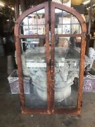 Arched Leaded Glass Casement Windows Arts And Crafts 62x36