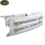 Fits 05-09 Land Rover Discovery 3 Lr3 Front Chrome Abs Plastic Grille Fence