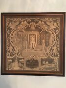Bicentennial Tapestry Of Signing Declaration Of Independence 24x24