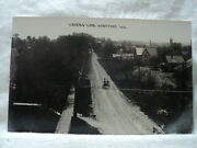 Hartford Wi Wisconsin Lovers Lane Street Scene Early 1900and039s Rppc Postcard
