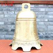 49 Cm Chinese Classical Allusion Temple Brass Safe And Sound Hang Church Bell