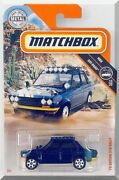 2019 Matchbox And03970 Datsun 510 Rally 73/100 [blue] Mbx Off-road