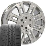 20 Wheel Tire Set Fit Ford Expedition Style Chrome Rims 3788 Gy Tires