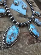 Golden Hill Turquoise Necklace Set By Bea Tom