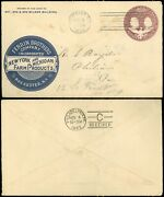 1893 Rochester Ny Cds Ferrin Bros Co Ny And Michigan Farm Products Advert Cover