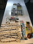 Bundle Of Glass Beads Chains Cords Necklaces Wooden And More See Pics