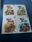 Disney Yearbook Hardcover Picture Books Lot Of 15 1992-2006 Collectible Rare