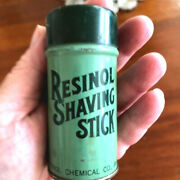 Resinol Shaving Stick - Tin With Full Contents