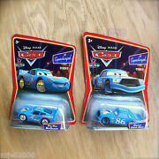 Disney Pixar Cars Dinoco Chick Hicks And Bling Bling Mcqueen Lot Of 2 Supercharged