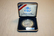 1987-p Silver Dollar Us Constitution Coins Uncirculated With Coa