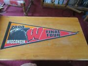 Wisconsin Badgers 2000 Final Four Vintage Pennant Ncaa