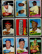 Lot Of 51 Different 1965 Topps Baseball High Number Cards Low Grade W/ Banks Fox