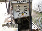 Vintage Lot Tokheim 1250 Gas Pumps 2 Ea And Ao Smith Pump With Spare Sparts