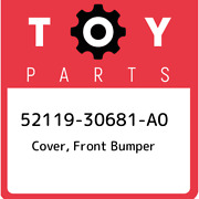 52119-30681-a0 Toyota Cover Front Bumper 5211930681a0 New Genuine Oem Part