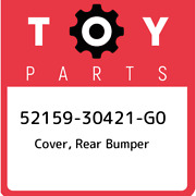 52159-30421-g0 Toyota Cover, Rear Bumper 5215930421g0, New Genuine Oem Part