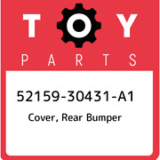 52159-30431-a1 Toyota Cover, Rear Bumper 5215930431a1, New Genuine Oem Part