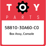 58810-30a60-c0 Toyota Box Assy Console 5881030a60c0 New Genuine Oem Part