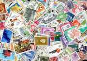 Europa West 15000 Stamps Different Obliterated All Countries
