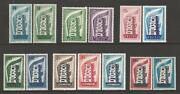 Europa 1956 Year Complete 13 Stamps New 1er Choice