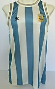 Adidas Womens Lionel Messi Argentina Tank Top Jresey Dress World Cup Sz M Ce2310