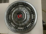 1967-1972 Pontiac Deluxe Wire Wheel Covers Hubcaps