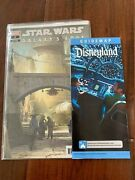 Star Wars Galaxy's Edge 1 Variant Nm With Star Wars Disneyland Guide Map New