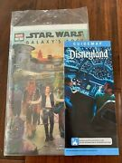 Star Wars Galaxy's Edge 1 Nm With Star Wars Disneyland Guide Map New