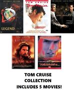 Tom Cruise 5 Film Dvd Collection Legend/jerry Maguire/ Collateral/etc.