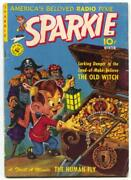 Sparkie 1 1951- Human Fly- Old Witch- Restored Vg
