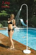 Shower Swimming Pool Outdoor Spa Hydro Poolside Pvc Hose Hookup Jet Ball Valve