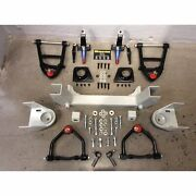 Front End Mustang Ii 2 Ifs Kit For 67 -72 Chevy Truck Fits Wilwood And Ssbc Brakes